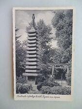 Ansichtskarte Karlsruhe 13stöckige buddh. Tagode aus Japan