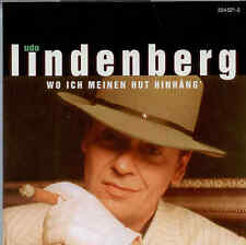 *** UDO LINDENBERG *** WO ICH MEINEN HUT HINHÄNG' *** neuwertig ***