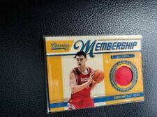 Yao Ming Rockets 2011 Panini Certified Game Used Jersey Basketball Card /499 Wow