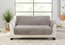 Elegant Pick Stitch SOFA  Furniture Cover sliver plate