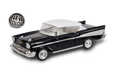 New In Box Road Signature 1/43  Diecast  O Scale  1957 Chevrolet Bel Air Black