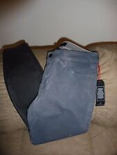NWT Cookie Johnson Gray Wisdom Ankle Skinny Jeans Reptile Print 27x26
