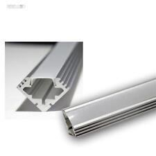 """1m1m LED profilo angolare in alluminio """"PL - eck"""",Alluminio anodizzato,Copertura"""