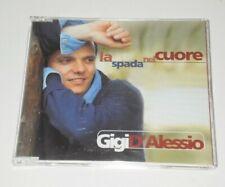 GIGI D'ALESSIO - LA SPADA NEL CUORE - RARO CD SINGOLO 1999 FUORI CATALOGO LU-/DP
