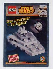 "Lego Star Wars ""Caccia Tie & Star Destroyer"" mini polybag 911510 SEALED gi"