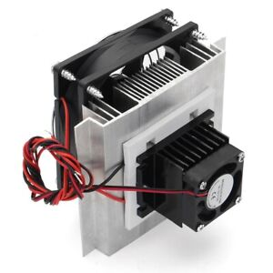 High Quality 12v 6a Thermoelectric Peltier Refrigeration Cooling System Kit Diy