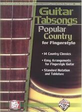 CHITARRA tabsongs: paese popolare per fingerstyle