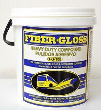 FIBER-GLOSS, 64oz , Fiberglass cleaner,  Gelcoat, Plexiglass, Head Light Polish