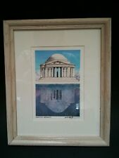 Joseph Harrison Snyder Jefferson Memorial,Washington,D.C. Reflection II Vertical