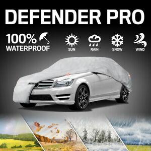 Motor Trend Defender Pro 6-Layer Waterproof Car Cover UV Rain Dust Resistant