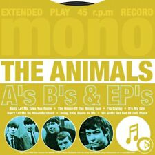The Animals A's B's & EP's CD NEW SEALED 2003 The House Of The Rising Sun+