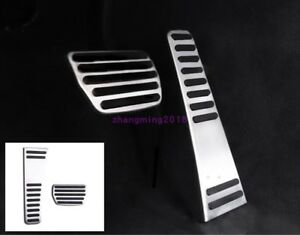 For Volvo XC60 2018-2019 Stainless steel Interior Accelerator Pedal trim