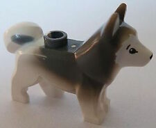 Lego minifigure Nouveau Chien Husky - (60036 animal artic) - 16606pb001