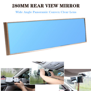280mm Car SUV Panoramic Convex Clear Lens Rear View Mirror Wide Angle Anti-glare