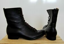 New Black Leather Ankle Boots Size UK 3.5/ EUR 36