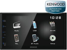 "Kenwood Doppel Din Bluetooth 17,3 cm 6,8"" WVGA Touch Panel DMX-110BT USB MP3"
