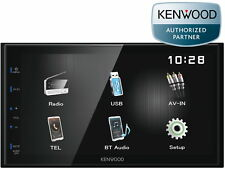 "Kenwood Doppel Din Bluetooth 17,3 cm 6,8"" WVGA Touch Panel DMX-110BT USB MP3"