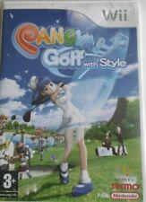 Nintendo Wii PANGYA! Golf with Style
