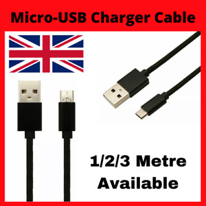 Micro-USB Charger Cable Heavy Duty Power Fast Charging Lead 1M 2M 3M Extra Long