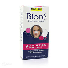 Nuevo Bioré Original limpieza profunda de poros Tiras 6s