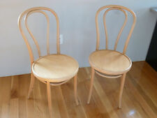 Bentwood Side Chair - Veneer Seat - Natural Finish **NEW** (Set of 2)