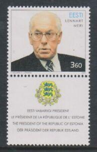 Estonia - 1999, President Lennart Meri stamp - M/m - SG 331