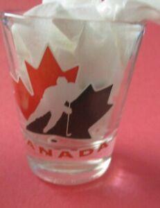 Team Canada Hockey Logo Shot Glass