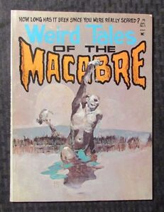 1975 Weird Tales Of The MACABRE #1 FN+ 6.5 Jeff Jones Cover Seaboard Magazine