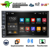 "Octa-Core Android 9.0 WIFI&4G 7"" Double 2DIN Car Stereo Radio GPS Navi DAB Map"