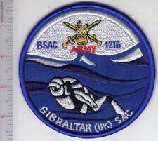 SCUBA Diving Gibraltar United Kingdom Army British Sub-Aqua Club BSAC 1216