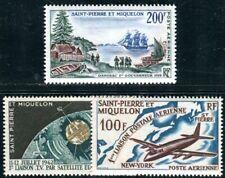 ST PIERRE et MIQUELON 1963 403,407,397 ** POSTFRISCH TADELLOS (08009