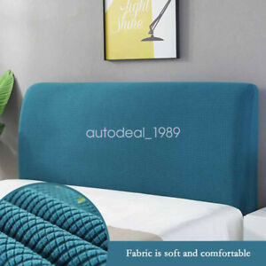 Stretch Bed Headboard Jacquard Slipcover Dustproof Protector Bed Head Cover