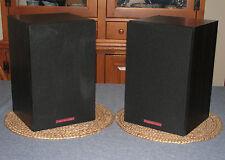 Pair (2) Vintage CERWIN VEGA L-7 BOOKSHELF SPEAKERS 75 Watts - Sound Sweet!
