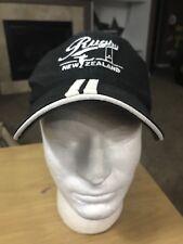New Zealand Rugby Football Black Baseball Cap Hat