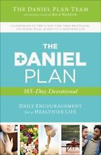 The Daniel Plan 365 Day Daily Christian Devotional Book by Rick Warren Paperback