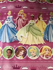 disney princess pink christmas gift wrapping paper 60 sq ft roll wrap princesses