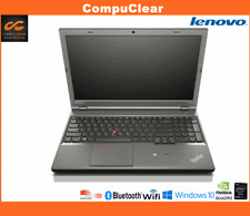 "Lenovo W541 15.6"" Laptop Intel I7 2.8GHz, 32GB RAM, 128Gb SSD + 500Gb, Win 10"
