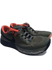 Nike Mens Air Zoom Terra Kiger 4 Trail Running Shoes Sz 8. 880563-208 Green