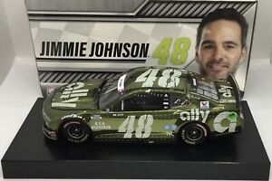 """2020 1/24 #48 Jimmie Johnson """"Ally Patriotic"""" Color Chrome 1 of 168  SD SHIP"""