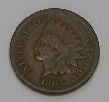 1865 Indian Cent VG Very Good