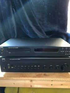 NAD integrated amplifier and CD player