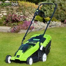 Aerotek Cordless 40v Series X1 Lawnmower Lithium-ion Battery and Charger Width