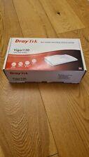 More details for draytek vigor 130 adsl2+/vdsl2 ethernet modem pppoe bridge