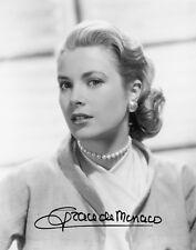 GRACE KELLY - Repro-Autogramm 20x26cm Großfoto (Grace de Monaco), repro signed