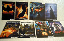 Lot of 9 Movie Cards From Video Store-BATMAN, TRANSFORMERS, ETC.-NICE!