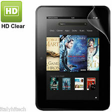 PELLICOLA LUCIDA TRASPARENTE PROFESSIONAL SCREEN PROTECTOR FILM KINDLE FIRE HD 7