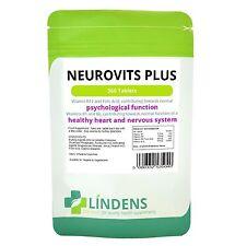 Lindens Neurovits Plus Vitamin B1, B6, B12, Folic Acid 360 Tablets New FREEPOST