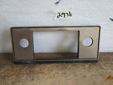 81-83 Ford Escort GT Dash Radio Bezel Panel Ford E1EB-61045-C70A