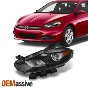 Fit 2013-2016 Dodge Dart Headlight Lamps Driver Side Replacement [Xenon HID Fit]