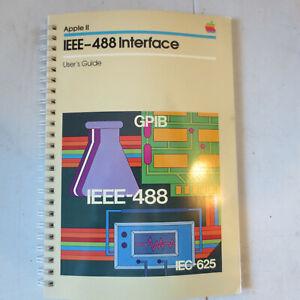 Apple II: IEEE-488 Interface User's Guide; A2L0037